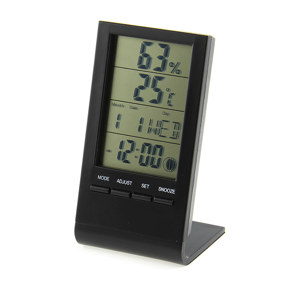 3 Inch LCD Multi-Functional Digital Thermometer / Hygrometer / C