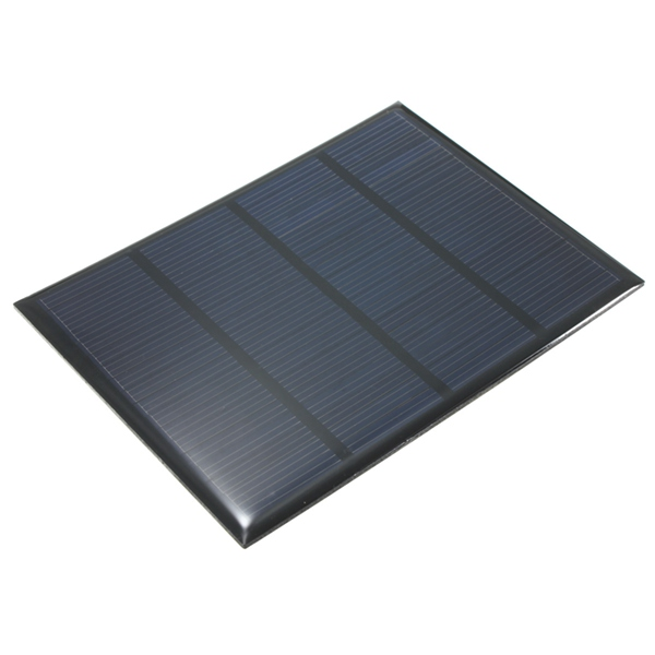 12V 100mA 1.5W Mini Epoxy Solar Panel Photovoltaic Panel
