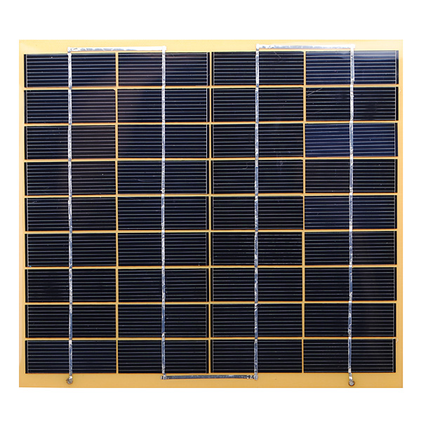 DIY 5W 18V Polysilicon Solar Panel For 12V Battery Charging