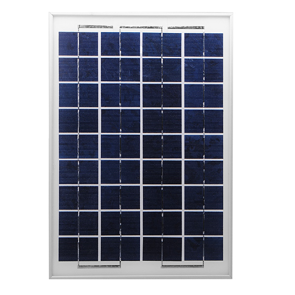DIY 10W Solar Panel For 12V Battery Charging Polycrystalline Sil