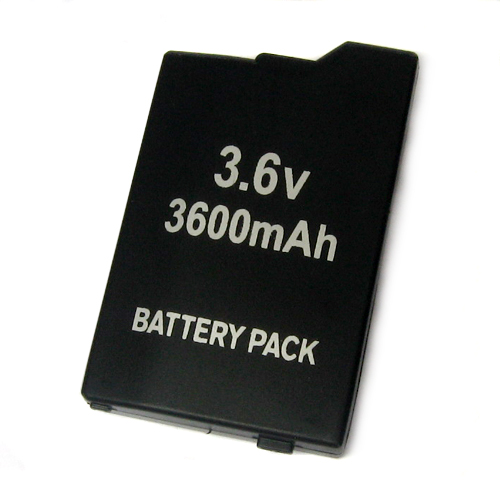 3600mAh Rechargeable Lithium Battery For Sony PSP 2000 & 3000