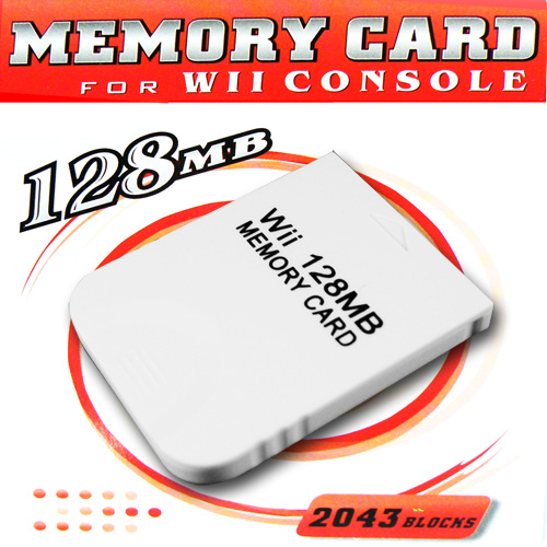 128 MB Memory Card For Nintento Wii Gamecube