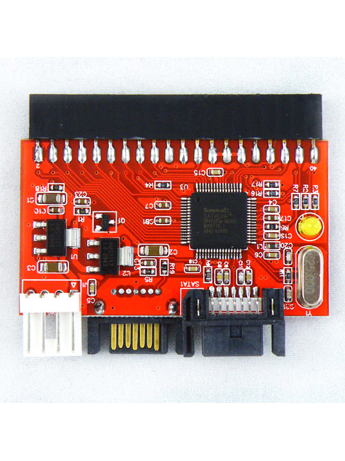 NEW 2 IN 1 IDE TO SATA/SATA TO IDE Converter Adapter