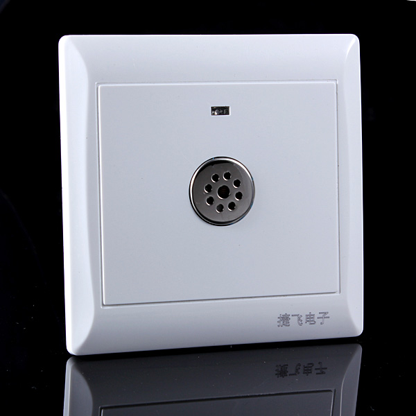 Sound Motion PIR Sensor Light Auto Wall Mount Control Touch Swit