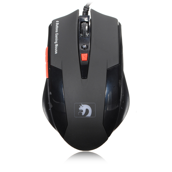 6 Buttons Gaming Mouse 2000DPI Adjustable Mice For PC Laptop