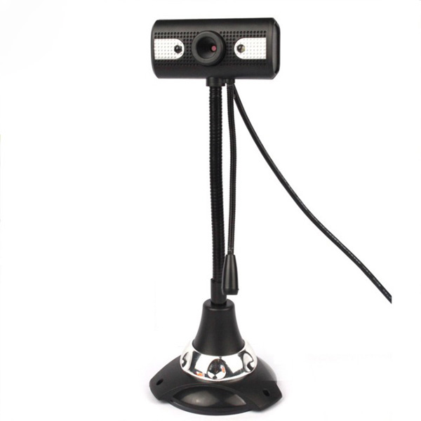 Snowwolf G6300Q7 5 Mega Pixels USB Webcam With Microphone
