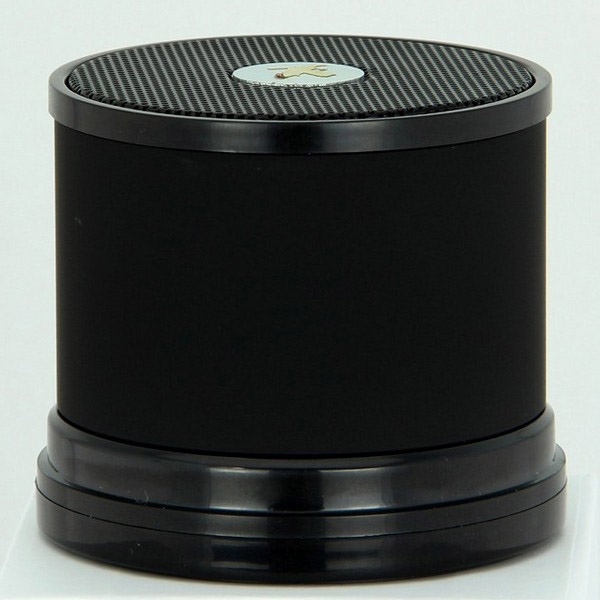 Black Voice Promts Bluetooth V2.0 Speaker With TF Card Slot