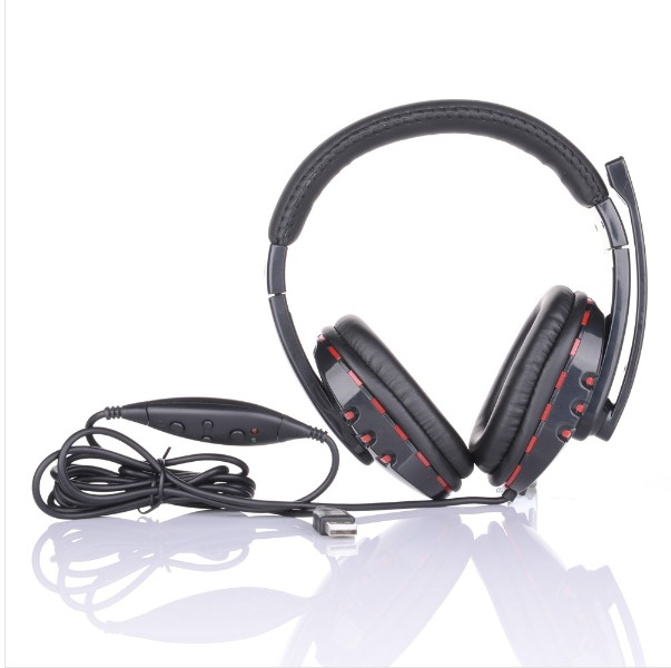 Wired Stereo Gamer Headphone Mic Sound For Sony Playstation PS3