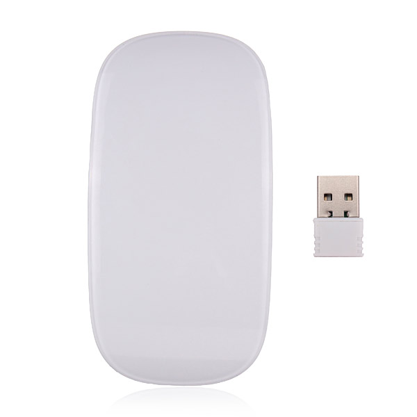 2.4G Scroll Wheel Touch Control Optical Slim RF Wireless Mouse