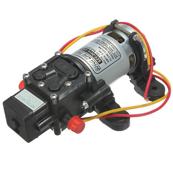 12V DC 4L/Min 100PSI High Pressure Diaphragm Water Pump