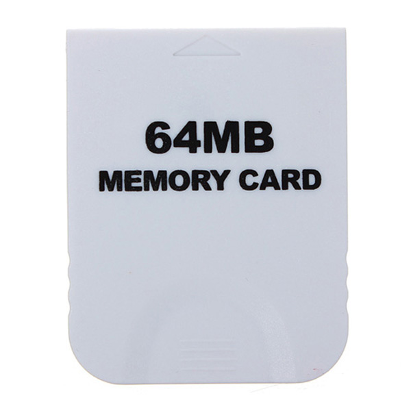 64 MB Memory Card White For Nintendo Wii & Gamecube