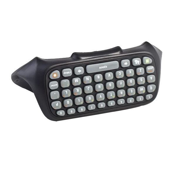 47 Key Keyboard For XBOX 360 Controller Messenger Black