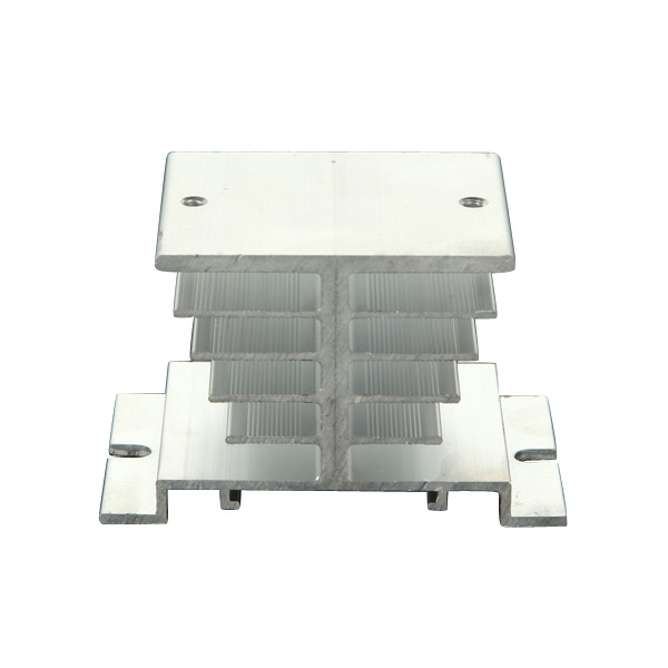 Aluminum Alloy Heat Sink For Solid State Relay SSR Heat Dissipat