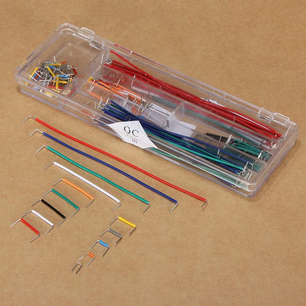140pcs U Shape Solderless Breadboard Jumper Cable Wire Arduino S