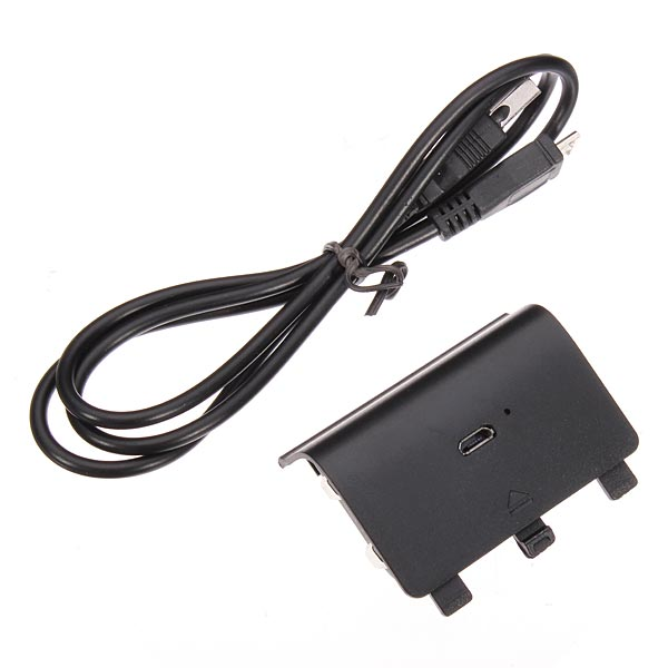 Charging Cable & NI-MH Battery Pack For Xbox ONE Controller Blac
