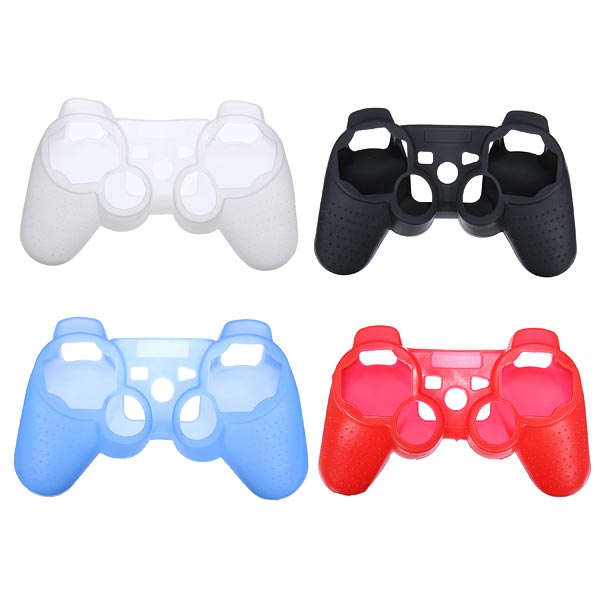 Silicone Protective Case Cover For PS3 Wireless Controller