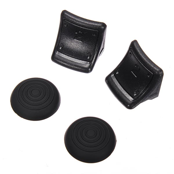 Analog Stick Silicone Grip & Extend Trigger Bundle For PS3 Contr