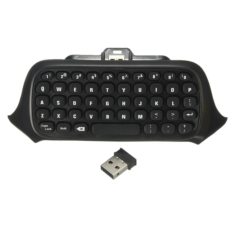 2.4G Mini Wireless Chatpad Message Keyboard for Xbox One Control