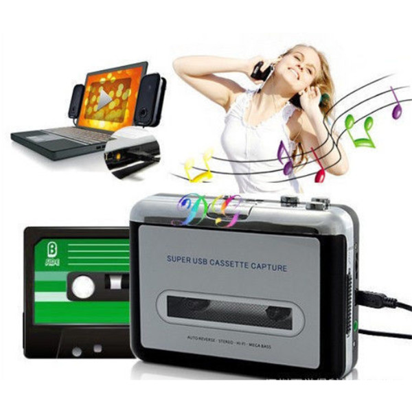 Portable USB Cassette Capture Tape To PC Super USB Cassette To M
