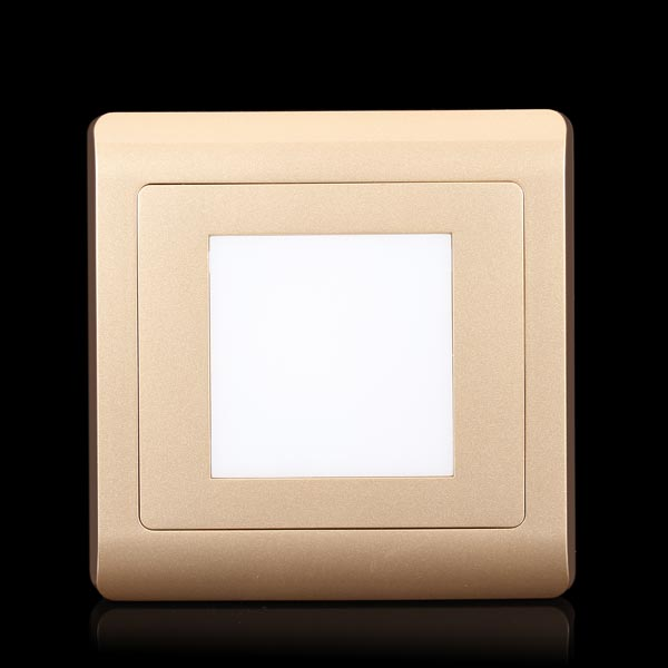 86x86mm Led Foot Lamp Led Small Night Light Button Type