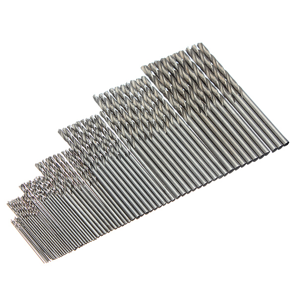 10Pcs Micro HSS Twist Drilling Bit Straight Shank for Electrical