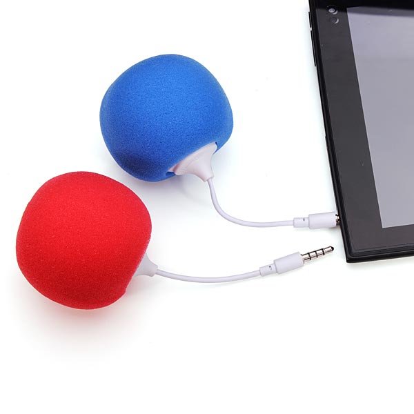 3.5mm Mini Portable Candy Balloons Music Speaker