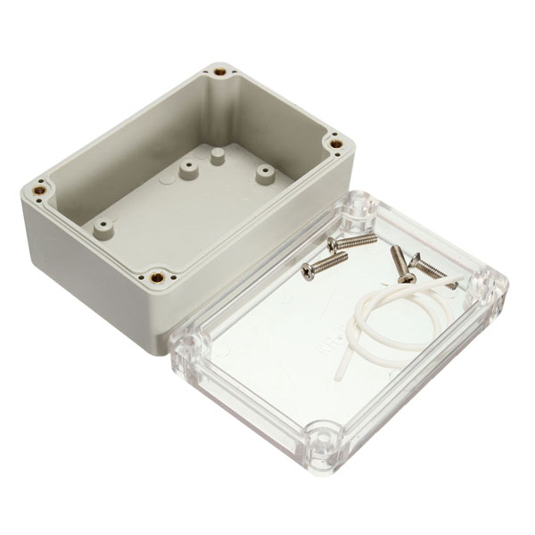 Electronic Plastic Box Waterproof Electrical Junction Case 100x6