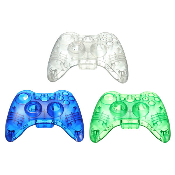 Transparency Plastic Shell  for Xbox 360 Wireless Controller