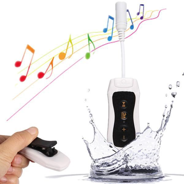 4GB Waterproof Clip HIFI MP3 Music Player Sports Swimming Diving