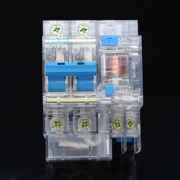 DZ47-63 2P 25A Miniature Transparent Circuit Breaker/Air Switch