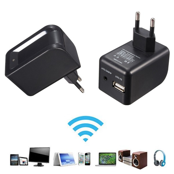 3.5mm Bluetooth2.0+EDR Audio Music Speaker Receiver with Charger