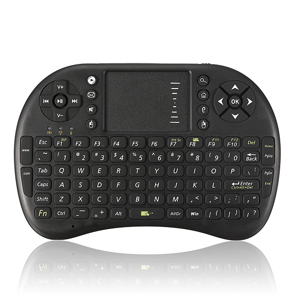 2.4G Mini Wireless Keyboard Mouse with Touchpad for PC Android T