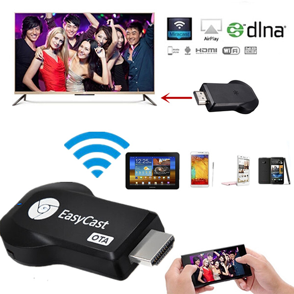 EasyCast EZCAST WiFi OTA Display Dongle Miracast TV Dongle HDMI