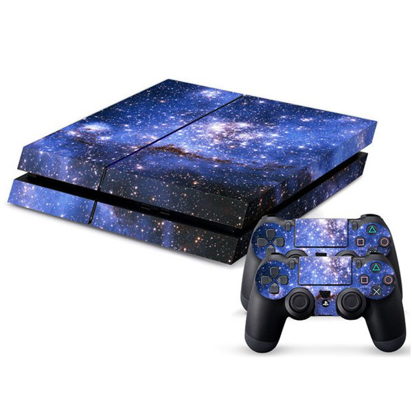 Sticker Skin For PS4 PlayStation 4 Console + 2Controller Cover (