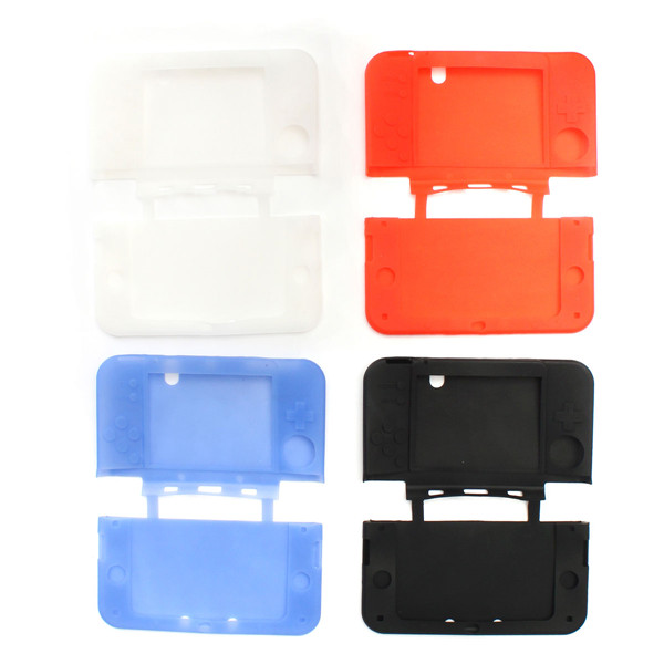 Soft Silicone Protector Case Cover Skin For New Nintendo 3DS LL