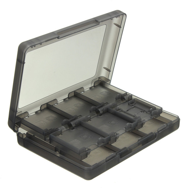 28 in 1 Game Memory Card Case Holder Storage Box For Nintendo 3D