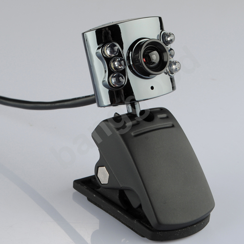 10.0m Pixel USB 6 Led Camera Webcam with Mic for PC Laptop