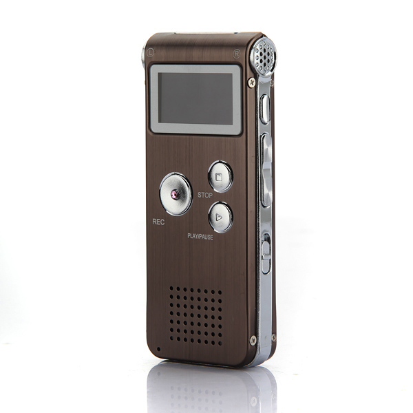 Steel 4GB Digital Sound Audio Voice Recorder Dictaphone MP3 Play
