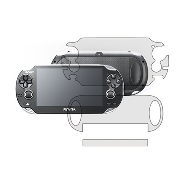 Clear Front & Back Screen Protector Film For SONY PS Vita PSV100