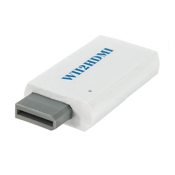 Wii to HDMI HDTV Video Converter Adapter HD 480P WII2HDMI 3.5mm