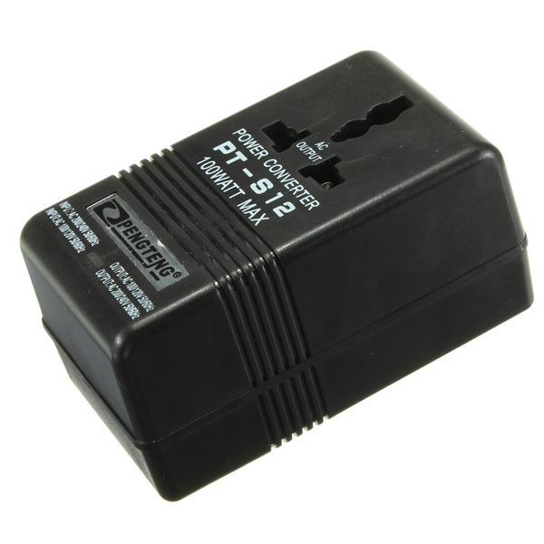 100W Power Adapter AC 110V/120V to 220V/240V Volt Voltage Transf