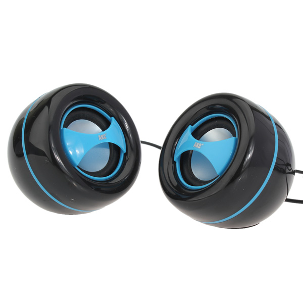 AKC-122 Portable Speaker Fashion Bass Usb Audio For PC Laptop