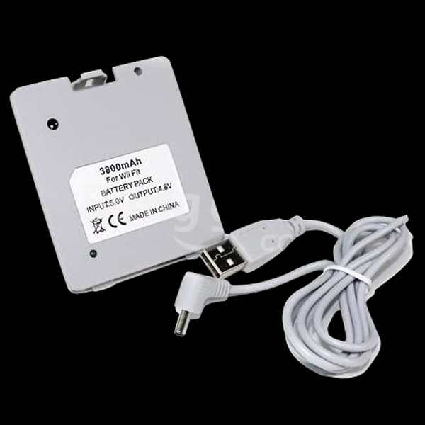 3800 mAh Rechargeable Battery For Nintendo Wii Fit Balance Board