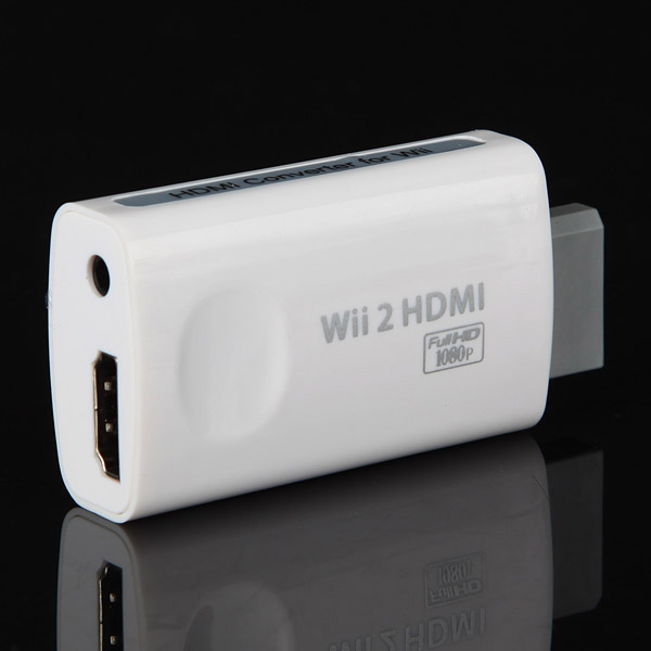 Wii HDMI Connection HD HDTV Output Convertor Adaptor