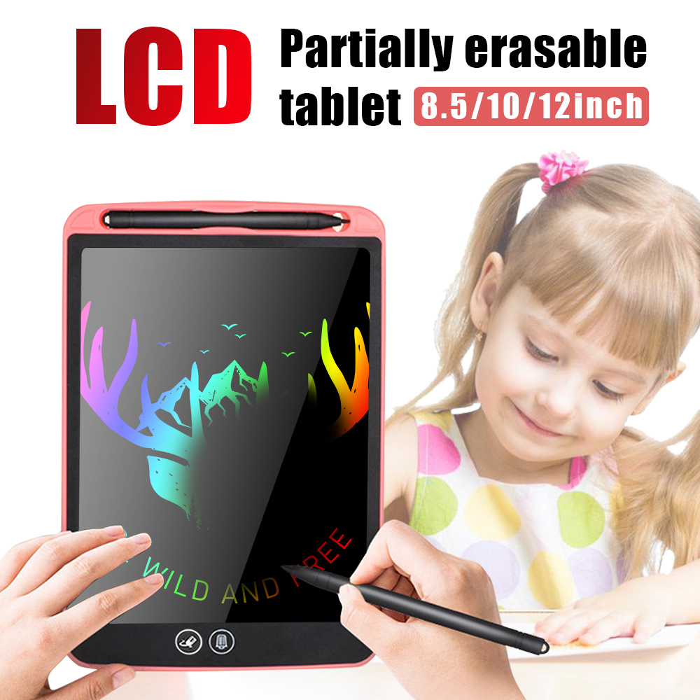 12 LCD Tablet Drawing Writing Board Kid Notepad eWriter Digital