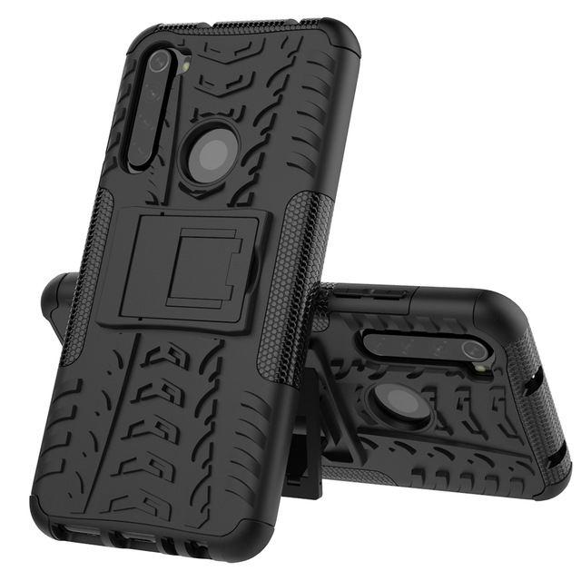 Bakeey 2 in 1 Armor Shockproof Non-slip with Bracket Stand Prote