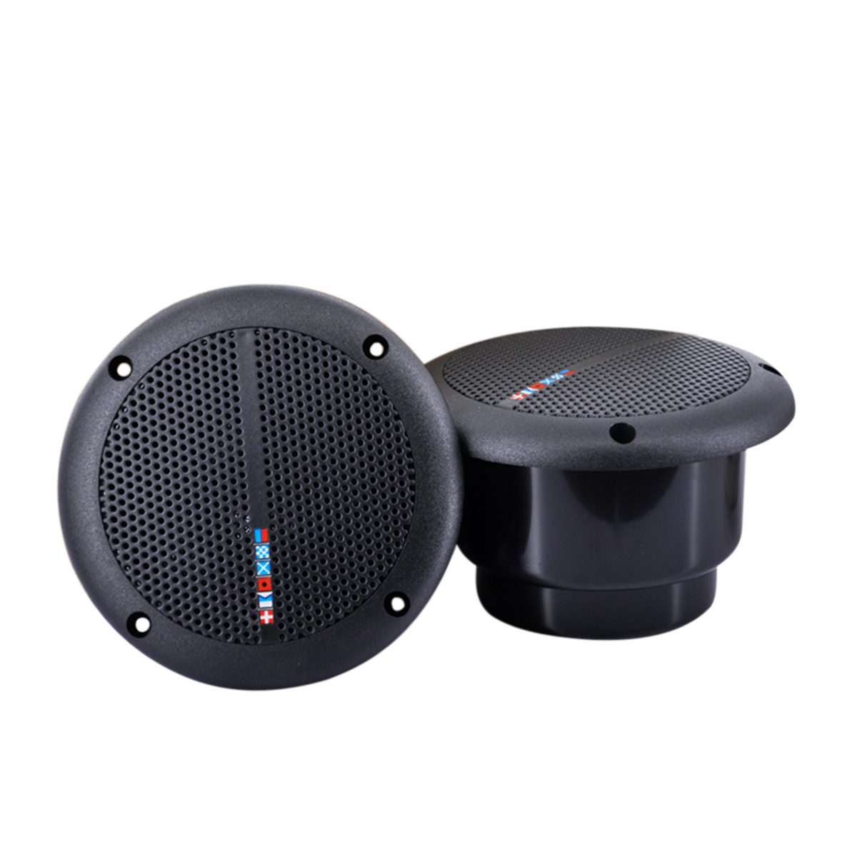 1 Pair Waterproof Marine Boat Ceiling Speaker Kitchen Bathroom W