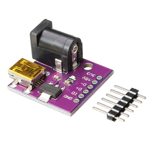 5V Mini USB Power Connector DC Power IC Socket Board
