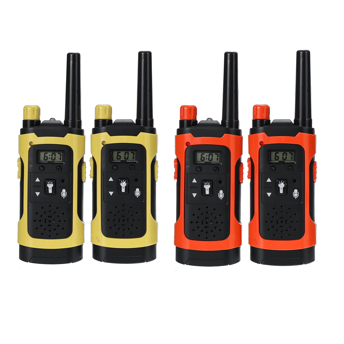 2PCS Portable Outdoor HD Call Wireless Children Walkie Talkie In