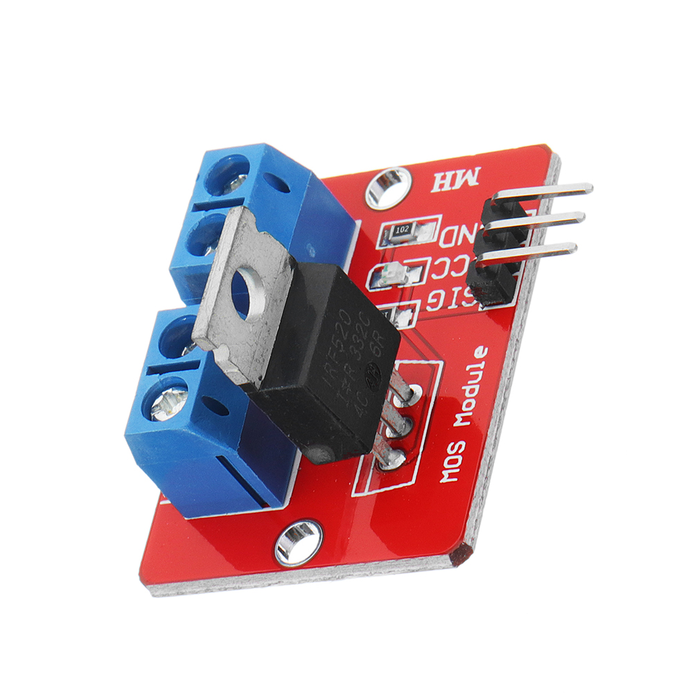 0-24V Top Mosfet Button IRF520 MOS Driver Control Module For  MC